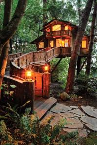 A most welcoming tree house.