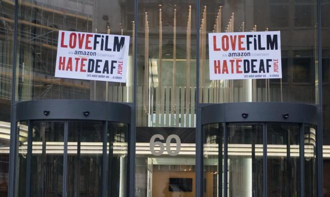 """Love Film Hate Deaf"" by Mark Thomas."
