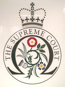 The Supreme Court's official emblem.