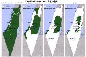 Map of Palestine.